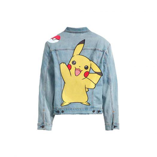 Levis x Pokémon Vintage Trucker Jacket Denim