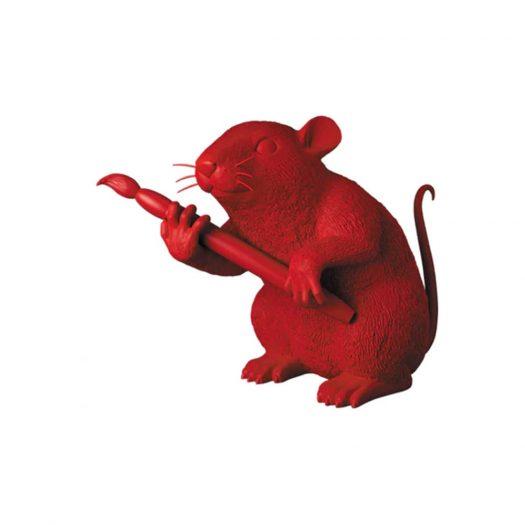 Banksy Medicom Love Rat Figure Red