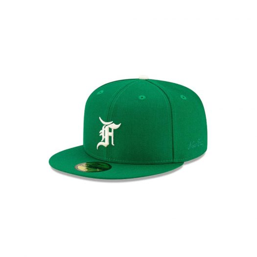 Fear of God Essentials New Era 59Fifty Fitted Hat (FW21) Kelly Green