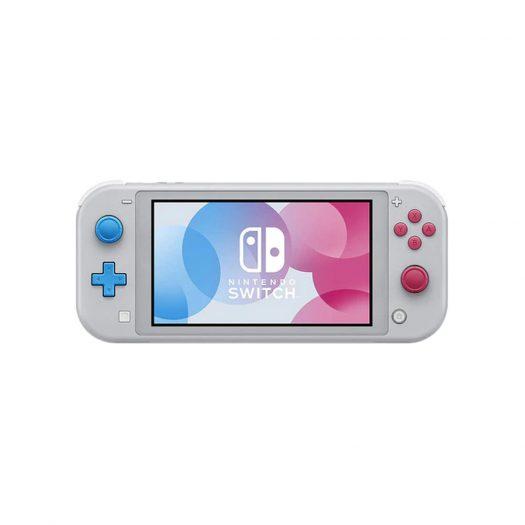 Nintendo Switch Lite Zacian and Zamazenta Pokemon Edition Gray - US Charger (HDHSGBZAA)