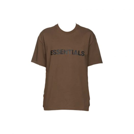 Fear of God Essentials x SSENSE Boxy T-Shirt Applique Logo Rain Drum