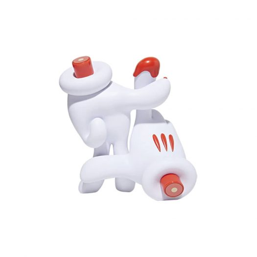 Slick OG LA Hands Vinyl Figure White/Red