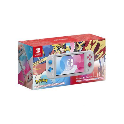 Nintendo Switch Lite Zacian and Zamazenta Pokemon Edition Gray – US Charger (HDHSGBZAA)