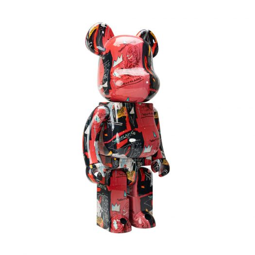 Bearbrick Andy Warhol x JEAN-MICHEL BASQUIAT #1 1000%