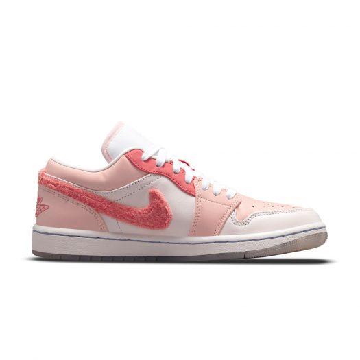 Jordan 1 Low SE Mighty Swooshers Pink (W)