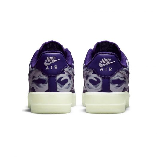 Nike Air Force 1 Low '07 QS Purple Skeleton Halloween (2021)