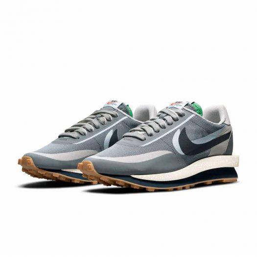 Nike LD Waffle sacai CLOT Kiss of Death 2 Cool Grey
